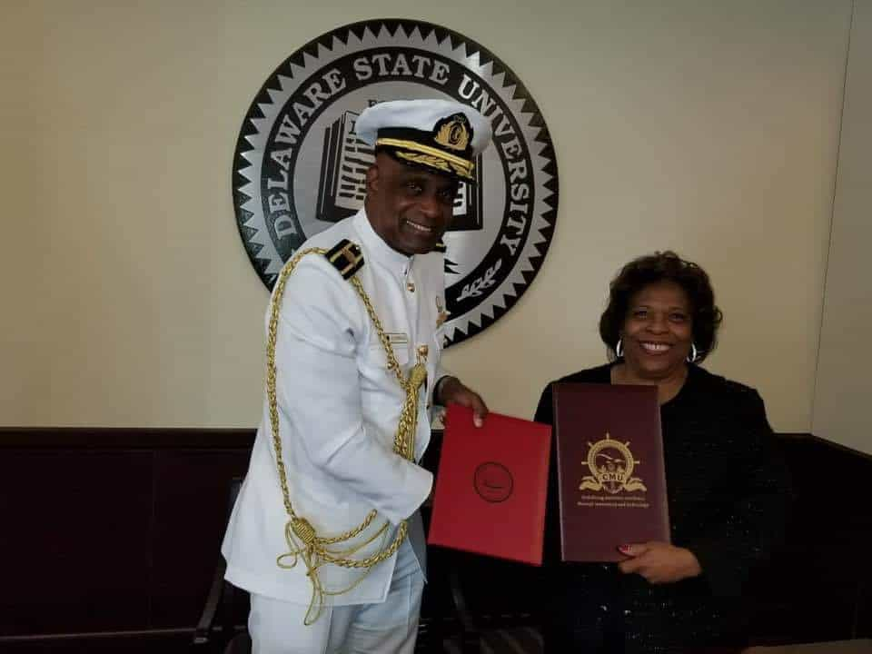 CMU and Delaware State University (DSU) Enters into Formal Partnership