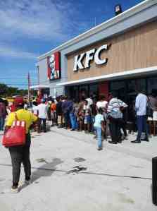 Falmouth's Call for KFC Restaurant Answered