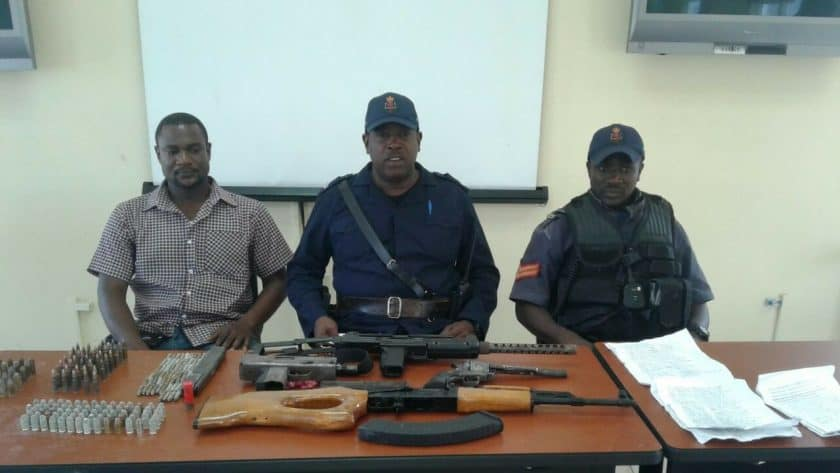 Deadly Firearms Seized