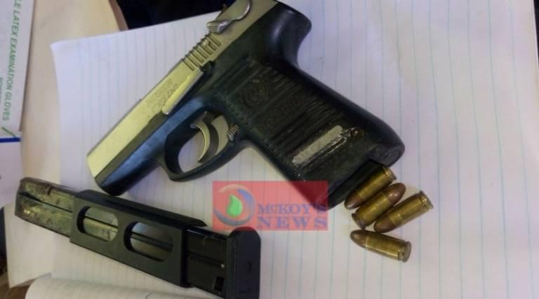 Flankers Men Detained Following Illegal Firearm Seizure