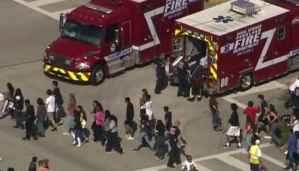 Florida School Shooting 17 Dead – Ex Student Shot-up Parkland School