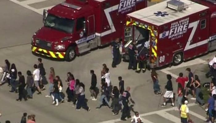 Florida School Shooting 17 Dead