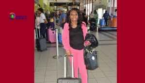 Georgia Lewin Fofanah left the Island back to Texas