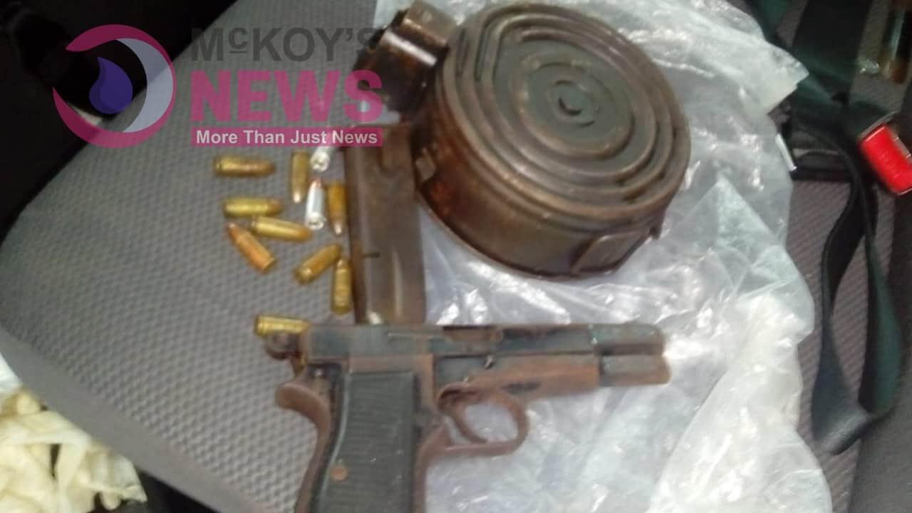 St Ann Man caught with Gun and Ammunition
