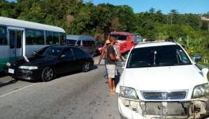 Five Vehicle Collision in Hanover