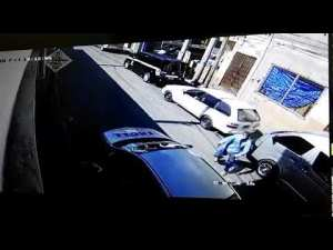 Live Video: Gunmen Robbed Tastee in Falmouth