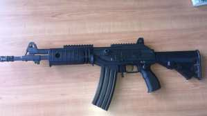 High-Powered Weapon and Ammunition Found in Central Village