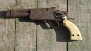 HOMEMADE FIREARM SEIZED IN MANCHESTER