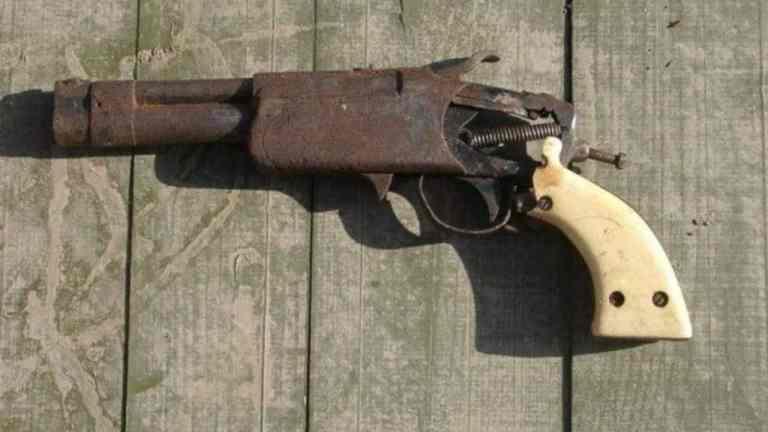Homemade Gun Seized by Police in St Ann