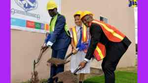 Ground Broken for Additional Classrooms at Immaculate