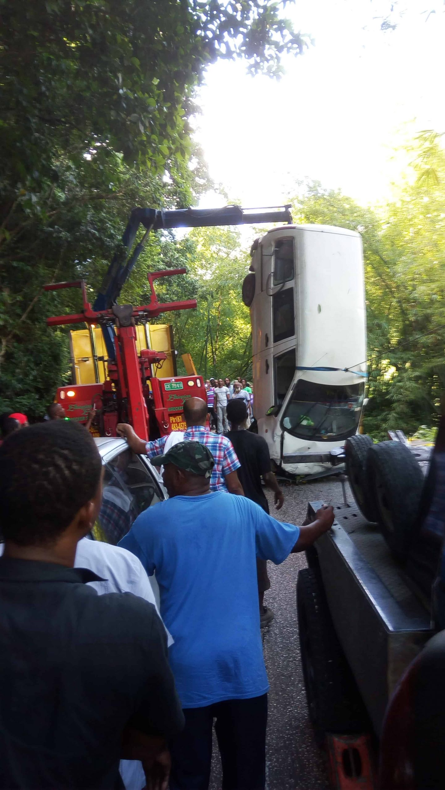 Long Hill Accident Results in Massive Traffic Pile Up in St James