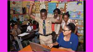 Campion-Bound John-Mark Tops GSAT at St. Jude's Primary School