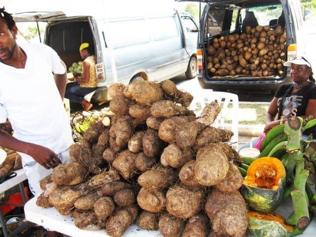 Market Vendor Chopped