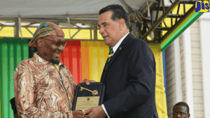Jimmy Cliff Receives Key to Montego Bay