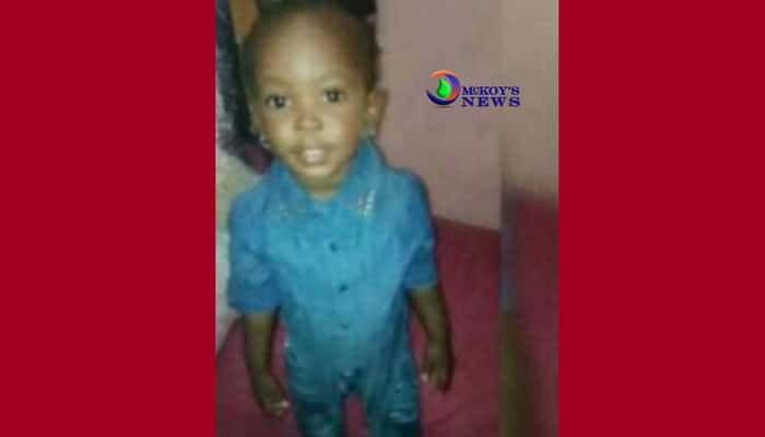St Mary 3-year-old Shot Dead