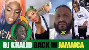 Khalid Back In Jamaica For Buju