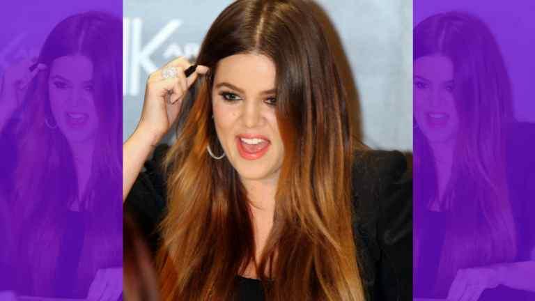 Celebrity Khloe Kardashian