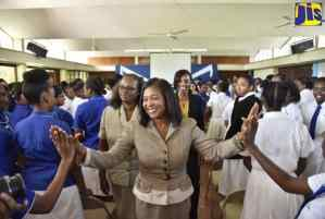 Lady Allen Encourages Youth to be Their Brother's Keeper
