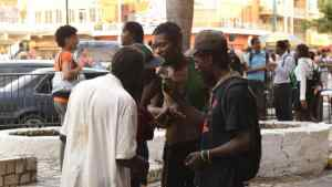 Four Mentally Ill Men Held Meeting in Sam Sharpe Square