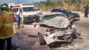 TWO PERSONS AND BABY INJURED IN HANOVER CRASH