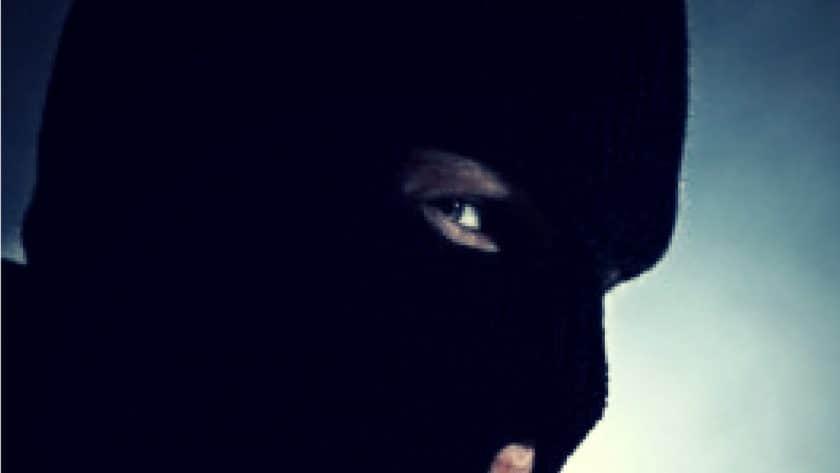 Masked Man Killed