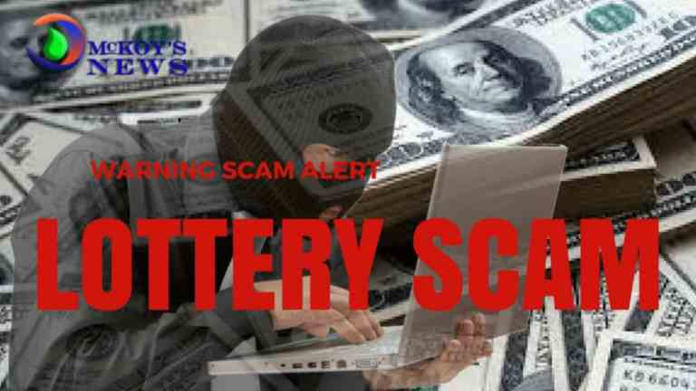 Lottery Scamming