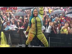 Medikk Gear Up For Yanique   Spice And Fans Did It In The Rain   Matterhorn On Foota And Marlon  