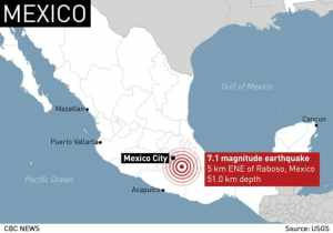 Mexico Earthquake: School Children Feared Buried