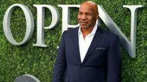 Mike Tyson Breaks Ground