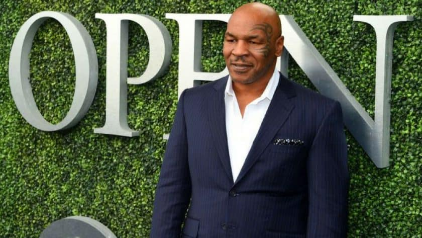 Mike Tyson Breaks Ground