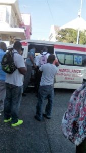Food Trailer Crashes into Man at Sam Sharpe Square, Mobay