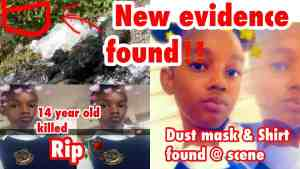 NEW EVIDENCE FOUND IN MURDER OF 14 YEAR OLD GIRL
