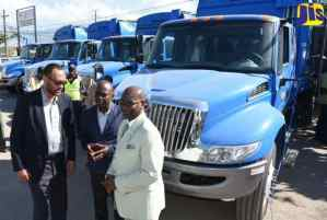 NSWMA Receives More Garbage Trucks