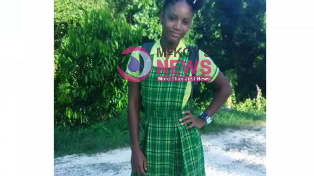 Natasha Williams, 14, from Montego Bay Missing