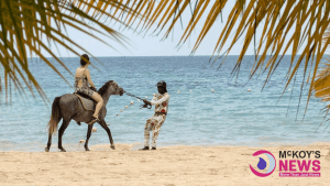 Horse Kicks Over Tourist in Negril; Illegal Horsemen Running the Beach Red Despite SOE