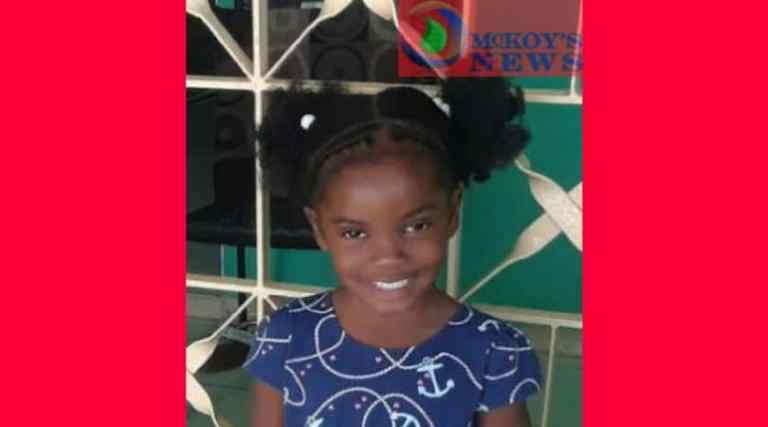 Three-year-old Nyomi Gregory Missing