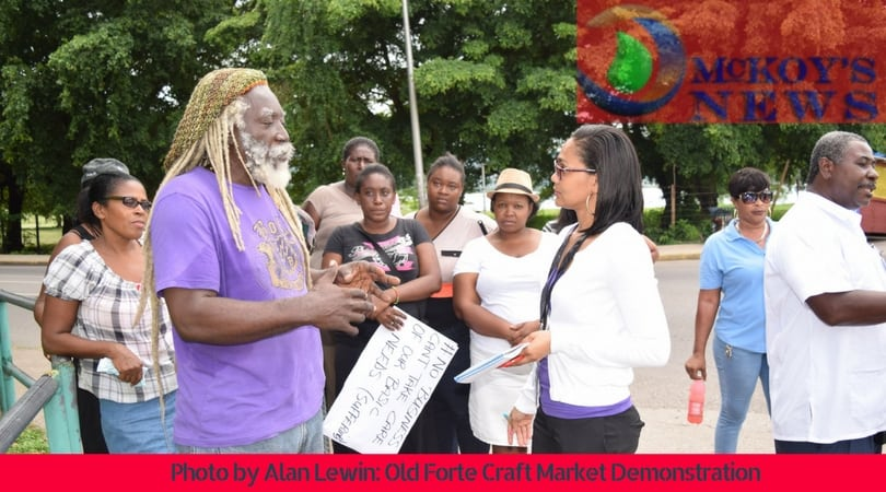 Montego Bay Craft Vendors Stage Controversial Election