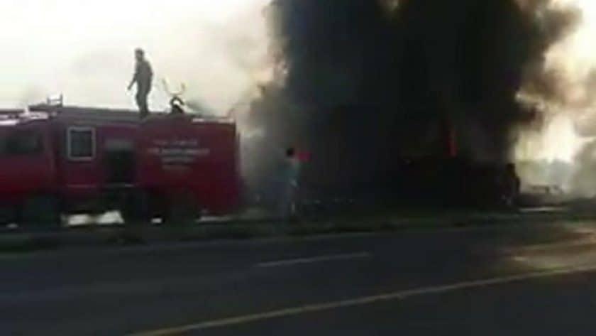 Pakistan Fuel Tanker Inferno