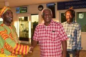 Paul Bogle's Grandson Constantine Bogle Meets Kwaku Adu Ampofo
