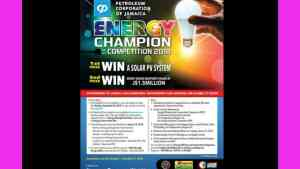 Registration for PCJ Energy Competition Closes Sept. 30