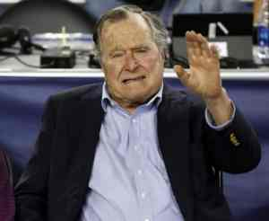 93-year-old ex-president Bush arrives in Maine for summer