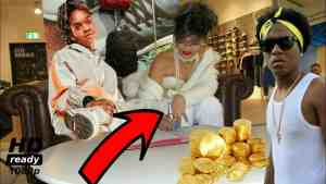 RIHANNA Signed KOFFEE / CHARLY BLACKS Sell Gold  Dancehall Reggae Doing Great