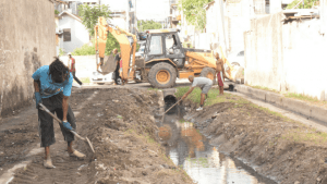Montego Bay: Railway Lane Gets Drain Cleaning