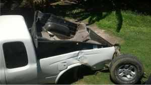 Three Seriously Injured in Highway Accident