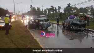 Students Among Seven Injured in Rosehall Crash