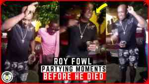 Roy Fowl PARTYING just MINUTES before his LIFE was taken