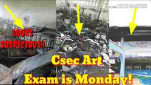 Video: Seaforth High School Fire Aftermath / Cxc Art Exam is Monday