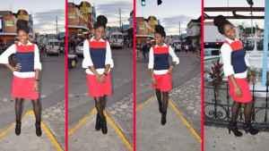Montego Bay Model Shanice Lewis