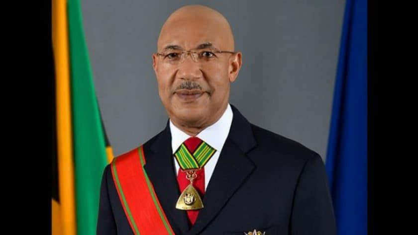 Governor-General Sir Patrick Allen