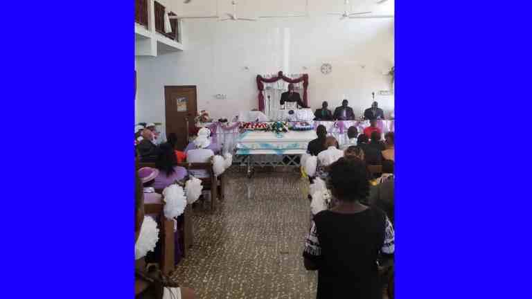 Sister Vee Funeral